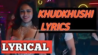 Khudkhushi Song Lyrics || ft_Neeti Mohan || Sourav   - YouTube