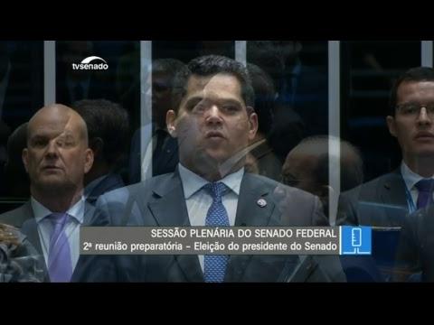 VÍDEO: Acompanhe sessão de escolha da presidência do Senado ao vivo