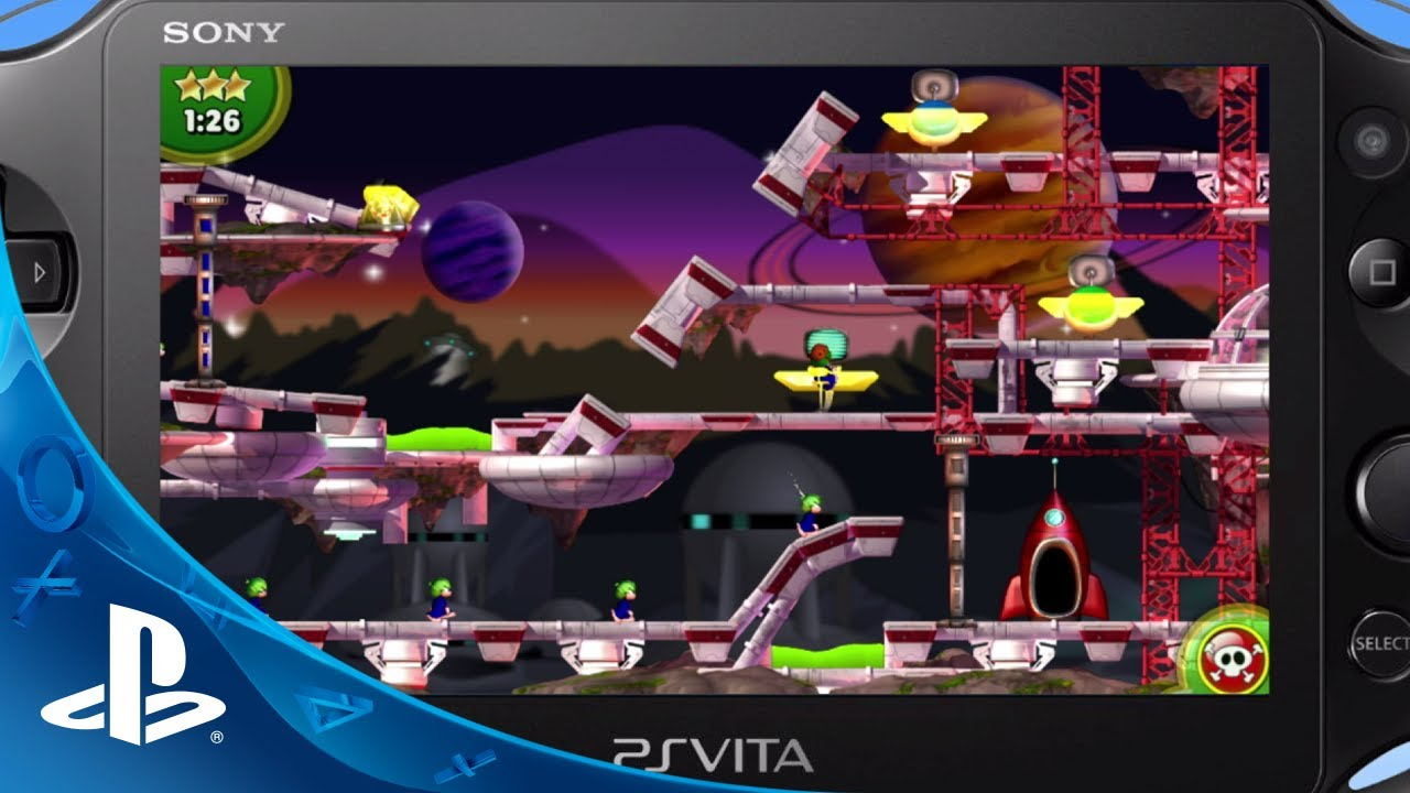 Lemmings Touch Lands on PS Vita Today
