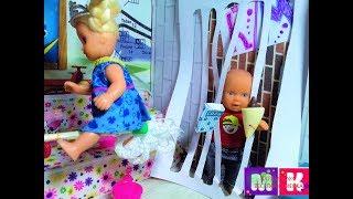 КАТЯ Я БОЛЬШЕ ТАК НЕ БУДУ! Катя и Макс веселая семейка. Мультики про кукол