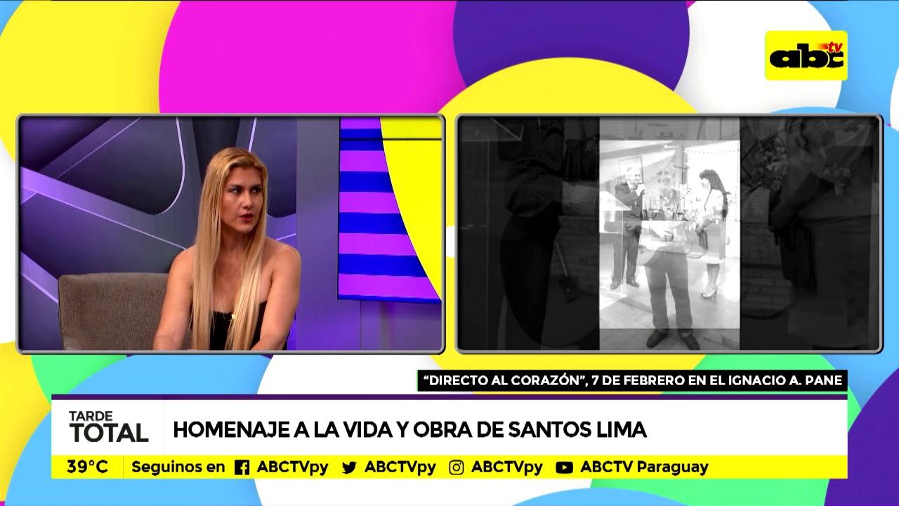 Homenaje a la obra y a la vida de Santos Lima