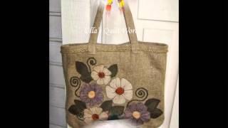 Вышитые сумки гладью - красивые варианты таких сумок, вышитых гладью