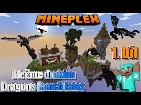 #1 | Utečme drakům na Mineplex | Dragons Ranch Isles  | MinecraftOSTRAVSKY | [FULLHD]