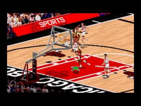 nba live 95 pc controls