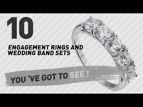 Engagement Rings And Wedding Band Sets Top 10 Collection // UK New & Popular 2017