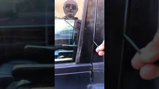 How to open Land Rover Range Rover door without key Part 2
