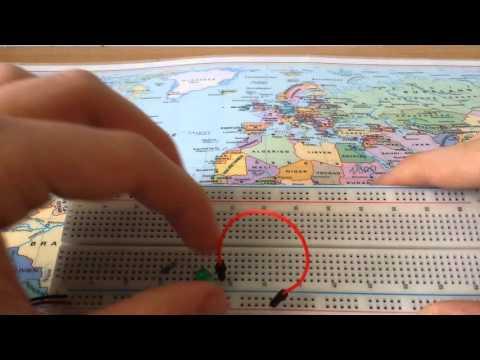 Elektronik-Tutorial 01: Das Steckbrett