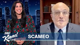 Guest Host Sarah Silverman on Giuliani Joining Cameo, Bad News for White People & Who's Jewish!?