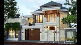 Video Desain Rumah Villa Bali 2 Lantai Ibu Citra di  Denpasar, Bali