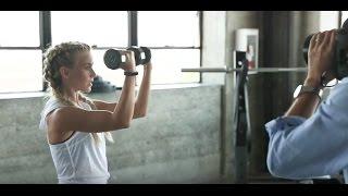 Julianne Hough & Fitbit Behind the Scenes