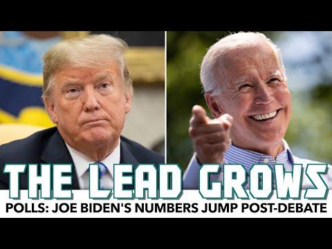 Polls: Biden's Numbers Jump Post-Debate