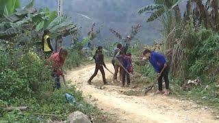 Phụ nữ xã biên giới Lùng Vai phát huy hiệu quả mô hình tự quản đường biên mốc giới
