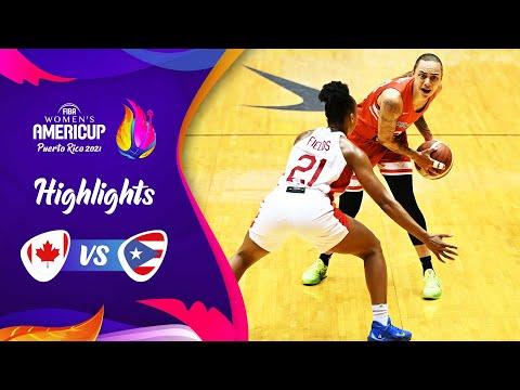 Canada Basketball Women vs Puerto Rico Basketball Women</a> 2021-06-19