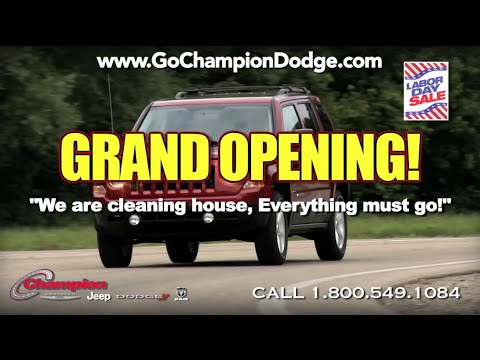 "2016 DODGE & JEEP Labor Day Sale - Los Angeles, Cerritos, Downey CA - RAM & CHRYSLER - ""Grand Opening"" EVENT"