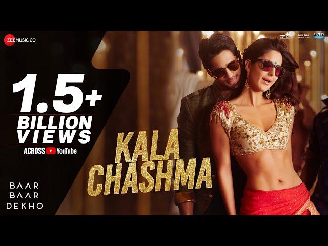 Kala Chashma Full HD Video Song   Baar Baar Dekho Movie Video Songs 2016