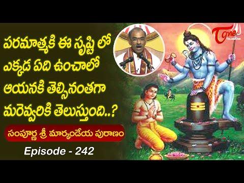 Markandeya Puranam #242 | పరమత్మకి ఈ సృష్టిలో ఎక్కడ ఏ�