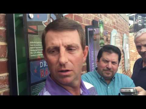 Catching up with Dabo Swinney at Greenville Prowl & Growl
