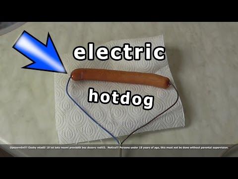 Electric HotDog - Jak si pomocí 230 V ohřát studený párek