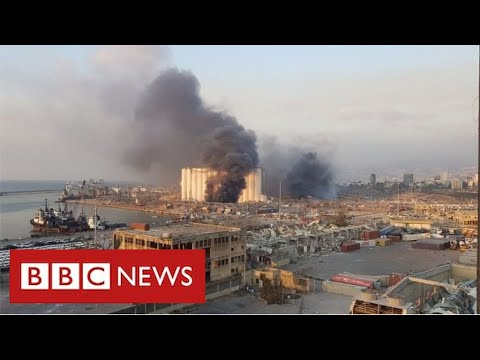 Massive explosion rips through Lebanese capital Beirut – BBC News