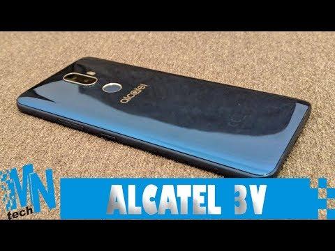 ALCATEL 3V: RECONOCIMIENTO FACIAL Y DOBLE CÁMARA POR POCO DINERO | REVIEW EN ESPAÑOL (2018)