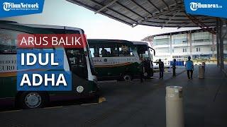 Arus Balik Idul Adha 2020 Tak Seperti yang Diharapkan Kernet Bus AKAP di Terminal Pulogebang