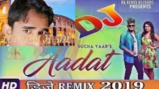 Aadat-Sucha Yaar Remix (Full Love Remix)   Aadat new remix   Heart Touching videos   Latest Punjabi