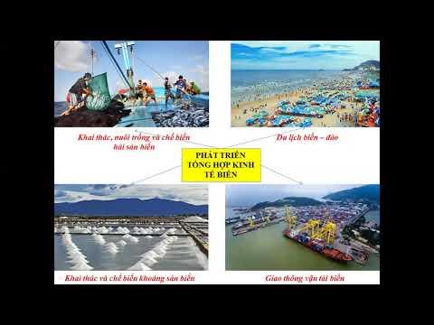 Địa 9 7 5 Chủ đề Kinh tế biển tiết 1