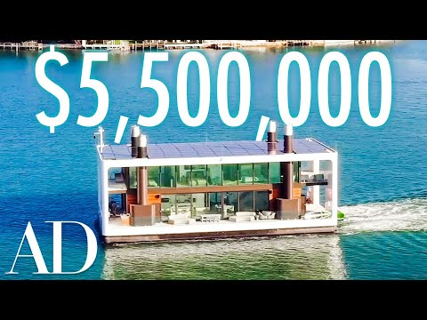 Inside a $5.5M Floating Mansion in Miami | On The Market | Architectural Digest