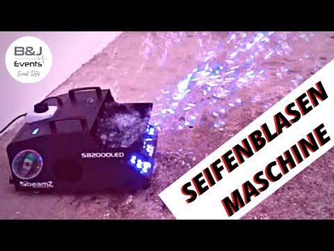 Seifenblasenmaschine | Bubble Machine | B&J Events Hochzeits- u. Party DJs I BeamZ SB2000 1500