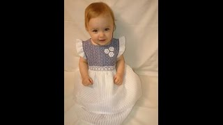 Linen Dress For Girls Birthday