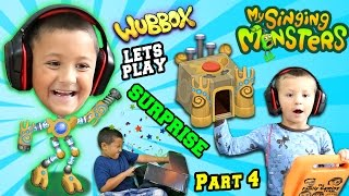 Lets Play MY SINGING MONSTERS Part 3!  WUBBOX Time w/ FGTEEV Mega Fan Surprise Box