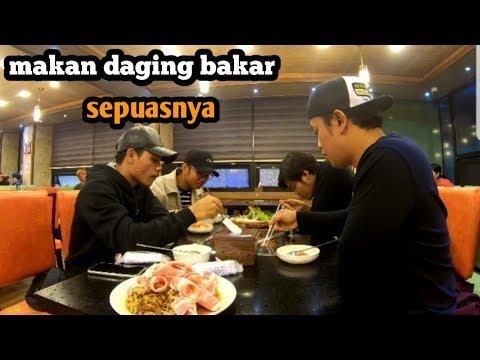 Malam minggu di kota CHUNGJU korea......lanjut makan DAGING BAKAR Sepuasnya