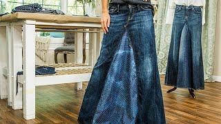 DIY - Orly Shanis DIY Maxi Jean Skirt - Hallmark Channel