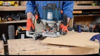 Utiliser une défonceuse – Tuto bricolage en video