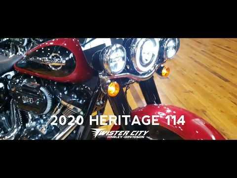 2020 Harley-Davidson® Heritage Classic 114 : FLHCS