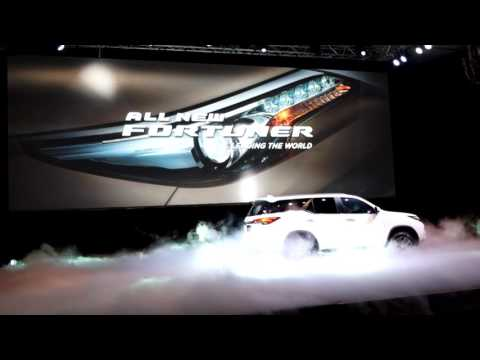 Toyota Fortuner 2016 Launch