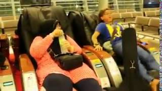Funny!!! First Time Using A Massage Chair