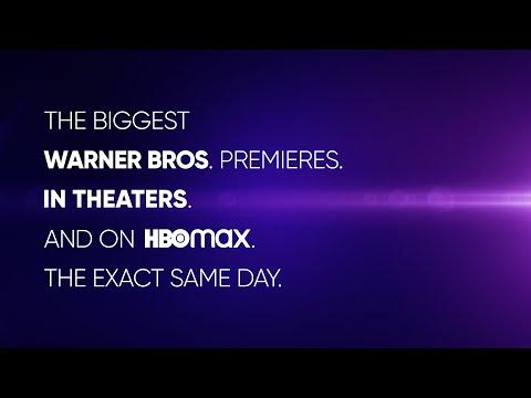 Same Day Premieres | WB | HBO Max – Il trailer ufficiale