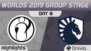 IG vs TL Highlights Worlds 2019 Main Event Group Stage Invictus Gaming vs Team Liquid by Onivia