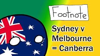 Footnote: Sydney v Melbourne = Canberra | EVERYTHING Australia
