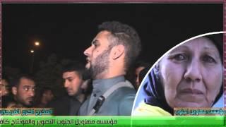 بكاء علي البخيتاوي  في الميدان وقصه ابن يضرب امه 2016