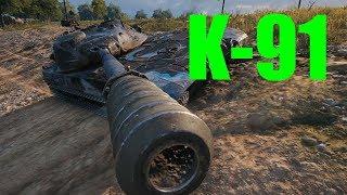 【WoT:K-91】ゆっくり実況でおくる戦車戦Part474 byアラモンド