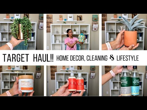 TARGET HAUL 2019 // DECOR, NEW CLEANING PRODUCTS & GIRLY THINGS :)