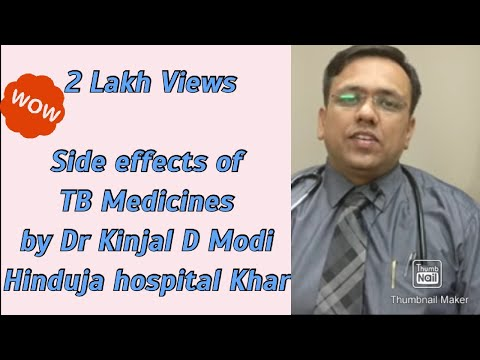 Video Side effects of TB medicines - a brief idea in hindi