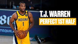 T.J. Warren Doesn't Miss A Shot In First Half vs. Magic