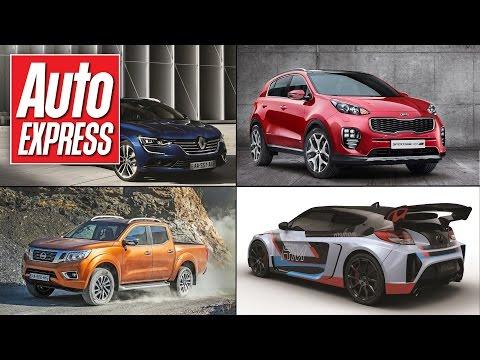 Frankfurt Motor Show preview, Kia Sportage & Renault Talisman – Car news in 90 secs