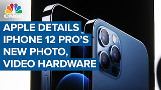 Apple details new photo and video hardware on iPhone 12 Pro