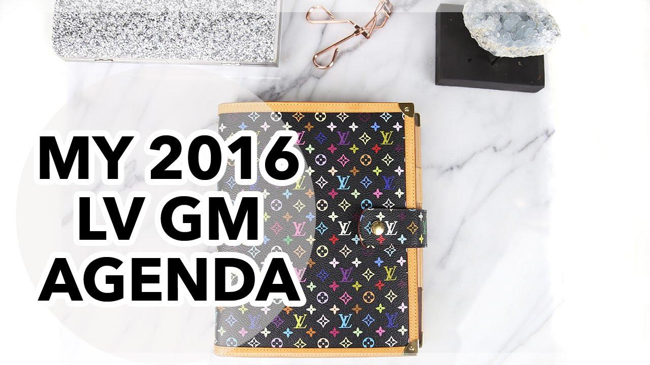 My 2016 LV Agenda Setup
