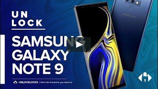 How To SIM Unlock SAMSUNG Galaxy note 9 by Unlock Code.