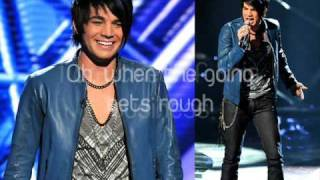 Adam Lambert - Black or White (Studio version)